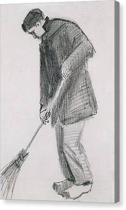 The Street Cleaner Canvas Print