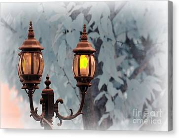 The Street Lamp Canvas Print