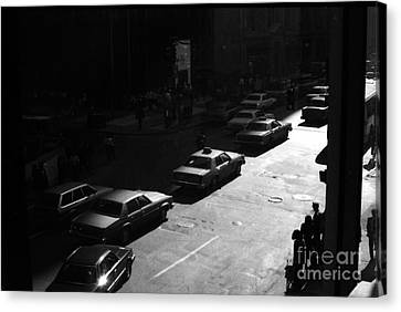 Canvas Print featuring the photograph The Street by Steven Macanka