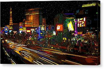 The Strip Canvas Print by David Lee Thompson