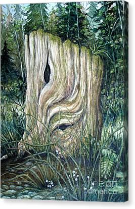The Stump Canvas Print
