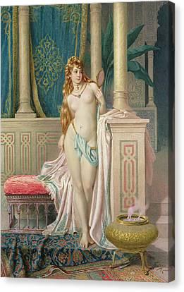 The Sultans Favorite Canvas Print by Frederico Ballesio