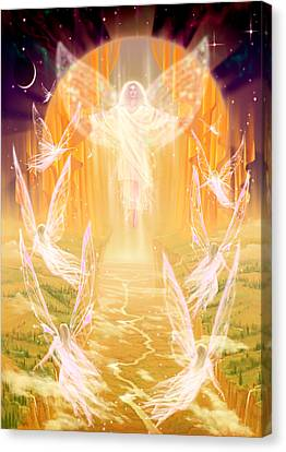 The Summoning Canvas Print by Garry Walton