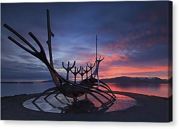 The Sun Voyager ... Canvas Print by Iurie Belegurschi