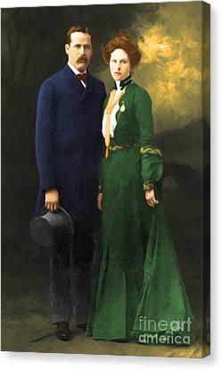The Sundance Kid Harry Longabaugh And Etta Place 20130515 Canvas Print