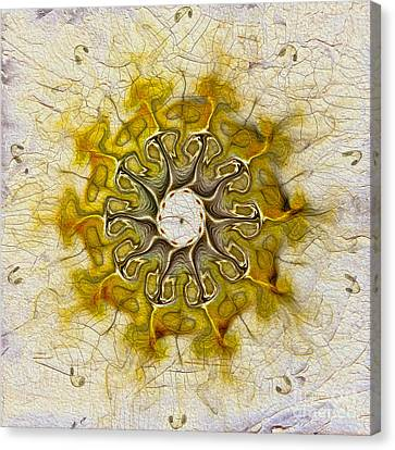 The Sundial Canvas Print by Deborah Benoit