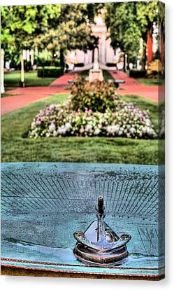 The Sundial Canvas Print by JC Findley