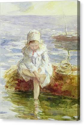 The Sunny Sea Canvas Print