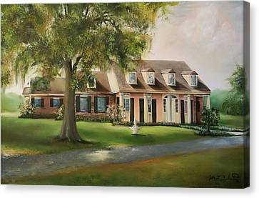 The Sunrise House Canvas Print