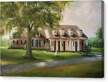 The Sunrise House Canvas Print