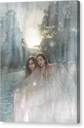 The Sunset Dance Canvas Print by Angel  Tarantella