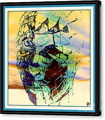 The Sunset Of Life Canvas Print by Irma BACKELANT GALLERIES