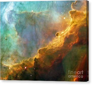 The Swan Nebula Canvas Print