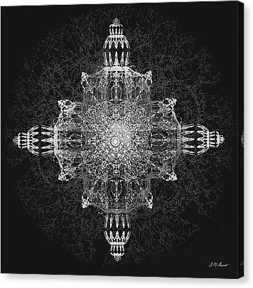 The Tabernacle In Black And White Canvas Print by Michael Durst
