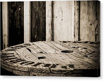 Canvas Print featuring the photograph The Table by Amber Kresge