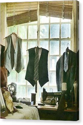 The Tailor Shop Canvas Print by Steve Taylor