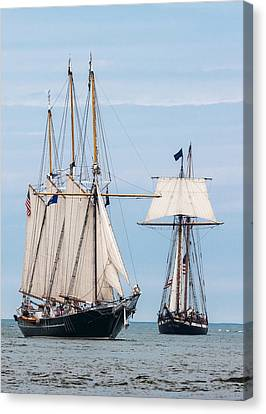 The Tall Ships Canvas Print by Dale Kincaid
