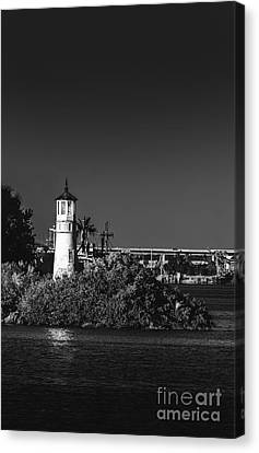 The Tampa Lighthouse Canvas Print by Marvin Spates