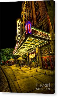 Pitcher Canvas Print - The Tampa Theater by Marvin Spates