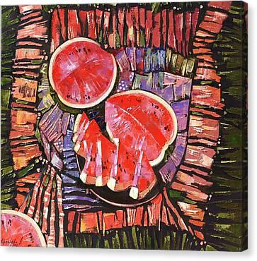 The Taste Of Summer. Canvas Print by Anastasija Kraineva