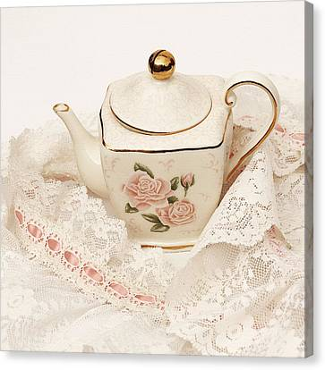 The Teapot Canvas Print by Art Block Collections