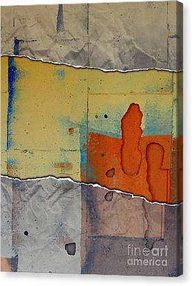 The Tear Canvas Print by Marcia Lee Jones