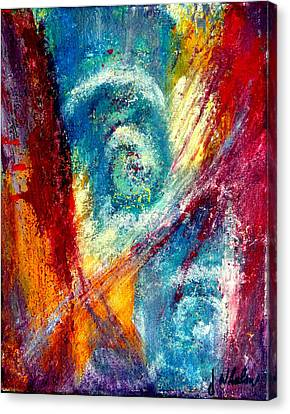 Canvas Print featuring the painting The Tempest by Jim Whalen