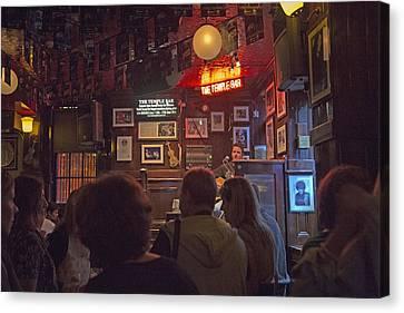 The Temple Bar Dublin Ireland Canvas Print by Betsy Knapp