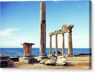 The Temple Of Apollo Canvas Print