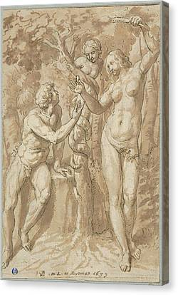 The Temptation Of Eve Canvas Print