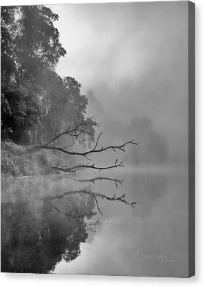 Canvas Print featuring the photograph The Temptation by Tom Cameron