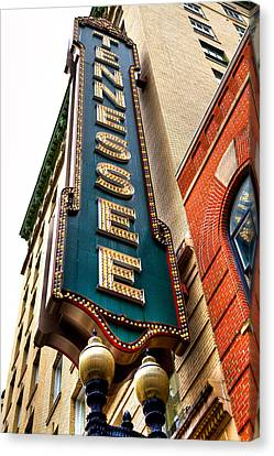 The Tennessee Theatre - Knoxville Tennessee Canvas Print