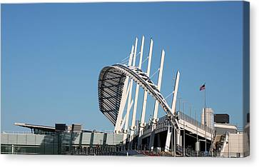 Staten Island Ferry Canvas Print - The Terminal by JC Findley