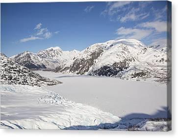 The Terminus Of Portage Glacier Canvas Print by Tim Grams