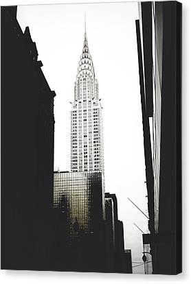 The Terraced Crown Of Manhattan Canvas Print