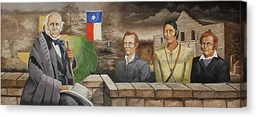 The Texans Canvas Print