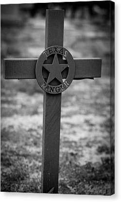 Canvas Print featuring the photograph The Texas Ranger by Amber Kresge