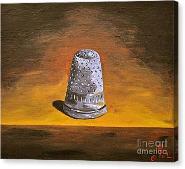 The Thimble Canvas Print by Herschel Fall