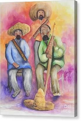 The Three Amigos Canvas Print by Chrisann Ellis