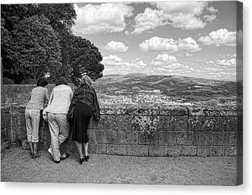 Canvas Print featuring the photograph The Three Graces by Hugh Smith
