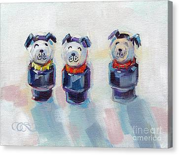 The Three Musketeers Canvas Print by Kimberly Santini