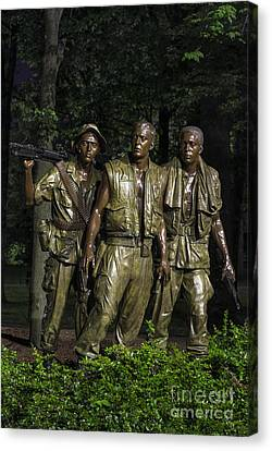 The Three Soldiers Canvas Print by John Greim