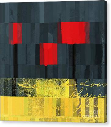 The Three Trees - J021580118  Canvas Print