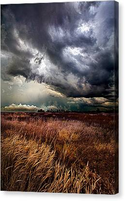 The Thunder Rolls Canvas Print by Phil Koch