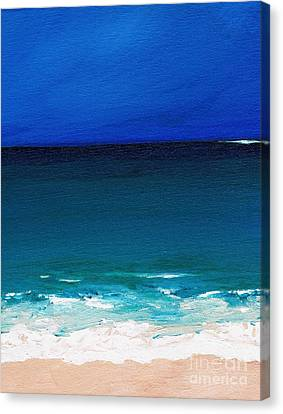 The Tide Coming In Canvas Print by Frances Marino