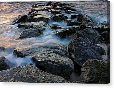 The Tide Rolls In Canvas Print