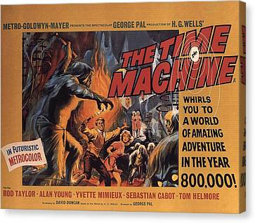 The Time Machine  Canvas Print by Movie Poster Prints