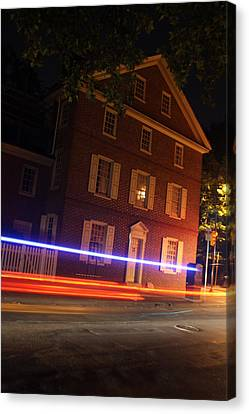 Dolley Canvas Print - The Todd House Philadelphia by Christopher Woods