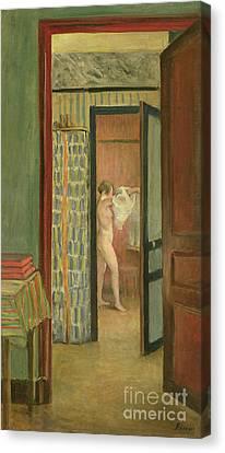 The Toilet Canvas Print by Henri Lebasque