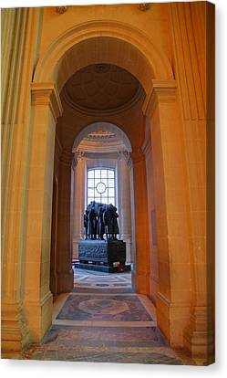 The Tombs At Les Invalides - Paris France - 011315 Canvas Print by DC Photographer